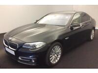 2013 BLACK BMW 530D 3.0 LUXURY DIESEL AUTO 4DR SALOON CAR FINANCE FR £54 PW