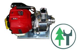 Frischwasserpumpe WX25 mit Honda GX25 Motor Benzin Motorpumpe NEU