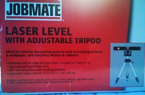 Brand new Jobmate  Laser Level with adjustable tripod West Island Greater Montréal image 4