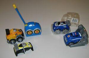 Lot de voitures dont une télécommandée