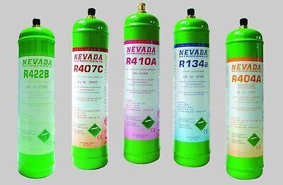 R134a Kältemittel 1lt. - Zylinder, 900gr., NEU