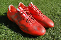 Red adidas F50 adizero FG  Firm Ground Soccer Shoes size 11 us