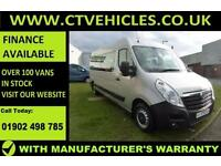 2016 66 plate Vauxhall MOVANO F3900 L3H2 CDTI MINIBUS 17 SEATER only 1500 miles
