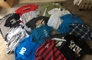 Huge lot of Size small Mens shirts; 21 items-perfect condition!