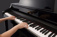 PIANO LESSONS IN THE COMFORT OF YOUR OWN HOME