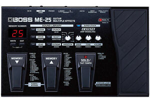 BOSS ME-25 - Multiple Effects Processor