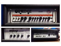 Orange cr120 amp head