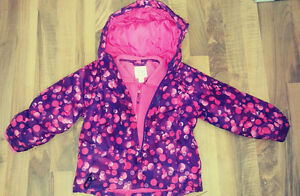 Childrens place winter coat with removable fleece lining London Ontario image 1