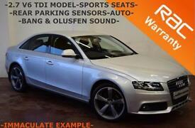 2008 Audi A4 2.7TDI V6 Multitronic SE -FULL SERVICE HISTORY-SPORTS SEATS-FINANCE
