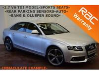 2008 Audi A4 2.7TDI V6 Multitronic SE -FULL SERVICE HISTORY-SPORTS SEATS-FINANCE