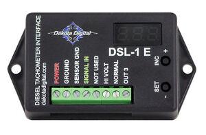 Dakota Digital Universal Diesel Tach Adapter Alternator Interface Unit DSL-1E