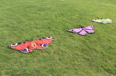 Kinder Chiffon Schmetterlingsflügel Schal Umhang Fairy Nymphe Funny Party - Nymphe Kostüm Kinder