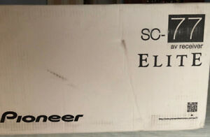 Pioneer Elite SC-77 9.2 1AV Receiver Powerful Natural Sound MINT