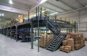 Mezzanines - Gain Additional Floor Space for Offices, Production