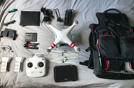 Dji Phantom 2 with H4-3D and complete FPV setup