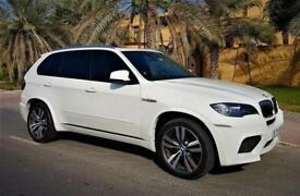 2012 61 BMW X5M 4.4 PETROL, LEFT HAND DRIVE, WHITE, FSH, RED LEATHER, FULLY LOAD