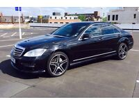 Mercedes S class 320 with S65 AMG body kit