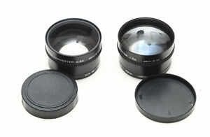 Teleconverter 0.6X and 1.5X in 52mm and 49mm thread