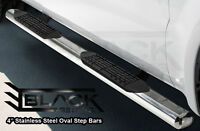 PICKUP TRUCK: Step Bars | Running Boards | Oval Nerf Bars - SALE