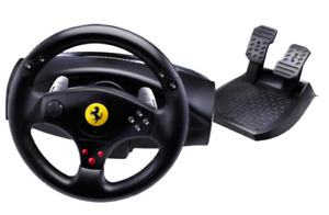 Thrustmaster Ferrari racing wheel and pedals, PS3