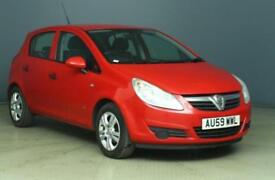 2009 Vauxhall Corsa Hatch 5Dr 1.2 16V 80 Active Petrol red Manual