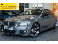 2012 BMW 3 SERIES 2.0 320D M SPORT PLUS 2DR FINANCE FROM £0 DEPOSIT! CONVERTIBL