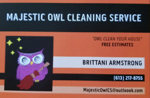 Majestic Owl Cleaning Service