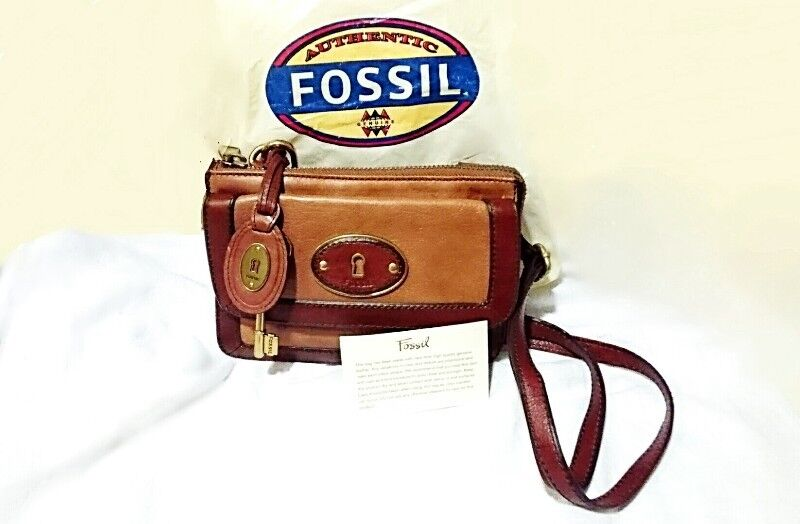 FOSSIL VINTAGE REISSUE TOP ZIP FLAP SHOULDER SLING BAG