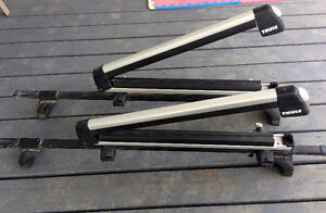 'Tis the season for Thule Roof rails and Ski/Board rack