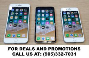 DOOR CRASHING deals on all latest iPhones X, 8, 8 Plus, 7, 6S, 6