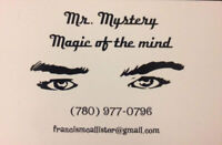 Need Entertainment!? Hire Mr. Mystery Master Magician !