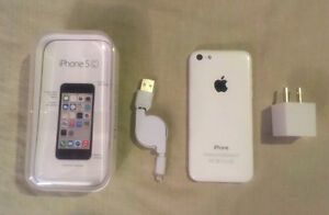 White iPhone 5c like new