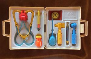 Fisher price vintage trousse de médecin 1980