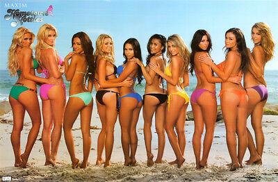 Maxim - Beach Bikinis Poster Print, 34x22