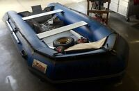 Zebec Boat w15hp Mercury w Trailer
