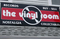 """The Vinyl Room"" records, cd's  & collectibles"