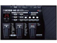 Boss me25 effects pedal inc looper