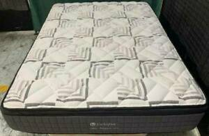 Excellent firm thick Pillow Top double bed mattress only for sale