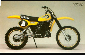 WANTED 1981 YZ250H