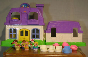 Maison Fisher-Price Little People house
