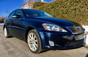 2009 Lexus IS 250 integrale -MAXIMUM OPTIONS- CUIR-TOIT-GPS-CAM