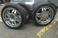 Player 504 Wheels and Stiletto Tires