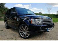 Land Rover Range Rover Sport 4.2V8 Supercharged 2007 HSE FSH BLACK CREAM LEATHER