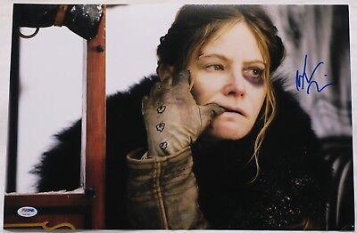 Jennifer Jason Leigh Signed Hateful Eight Autographed 12X18 Photo Psa  Ab61955