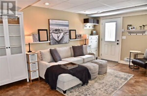 Fully Furnished Suite, All Utility's, 1 Bedroom, 1 Bath.