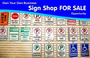 Own Your Own Sign Shop