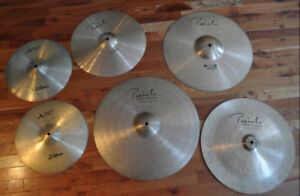 Paiste cymbal package with Armand hats