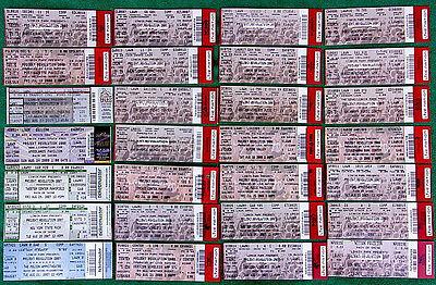 Lot 28 Unused Linkin Park Projekt Revolution Concert Tickets Chester Bennington