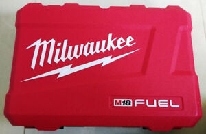 New! Milwaukee M18 Fuel Impact & Drill Case (Case only no tools)