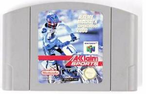 Jeremy McGrath Supercross 2000 - Nintendo 64 Morley Bayswater Area Preview
